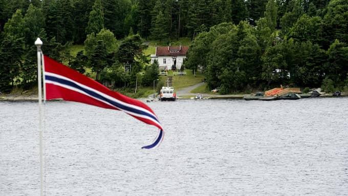 MINNESDAG. Det har gått sex år sedan 69 unga deltagare på de norska socialdemokraternas läger miste livet i massakern på Utøya. Foto: PONTUS LUNDAHL / SCANPIX / SCANPIX SWEDEN