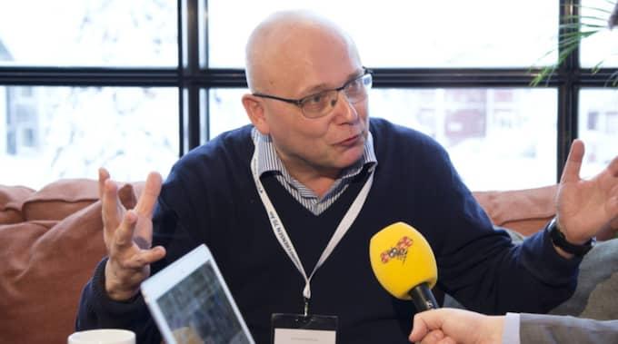 Terrorforskaren Magnus Ranstorp. Foto: Sven Lindwall