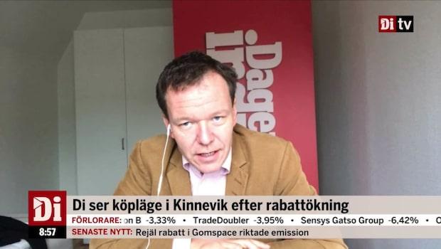 """Analytikern: """"Det är läge att fiska upp Kinnevik nu"""""""