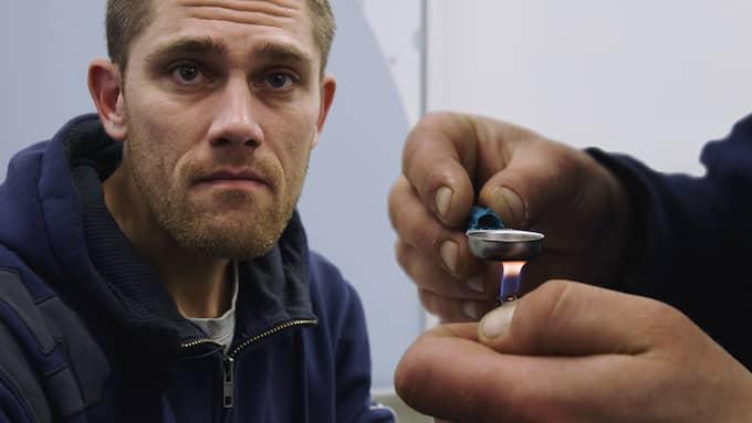 """""""Här i Danmark hjälper man folk och lyssnar mer"""", säger Patrick om Danmarks syn på droger. Foto: VICE"""