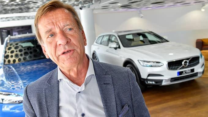 Volvos vd Håkan Samuelsson. Foto: JONAS EKSTRÖMER/TT