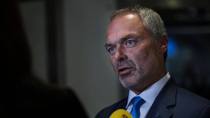 Jan Björklund, partiledare för Liberalerna, menar att den svenska skolan är på väg utför. Foto: LISA MATTISSON