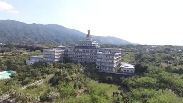 Lyxhotellet var det största i Japan – så ser det ut i dag