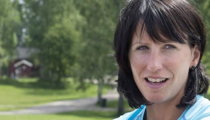 Vid sidan av skidorna är Marit Björgen ambassadör för sund tjejidrott i Norge och för att få norska folket att äta nyttigare. Foto: Tommy Pedersen