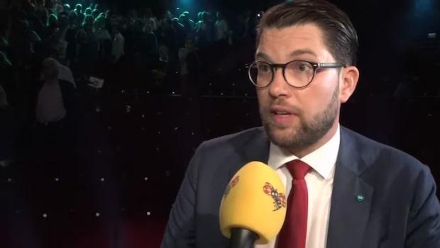 """Jimmie Åkesson: """"Kristersson svarade inte på frågan"""""""
