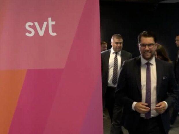 SVT tog avstånd till SD – fälls av Granskningsnämnden