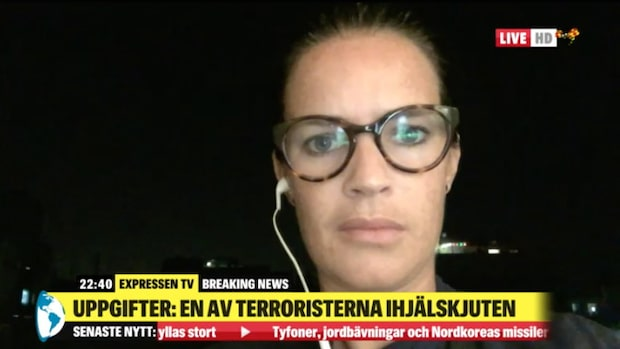 Anna Benson var i Bryssel – och nu även i Barcelona vid terrordåden