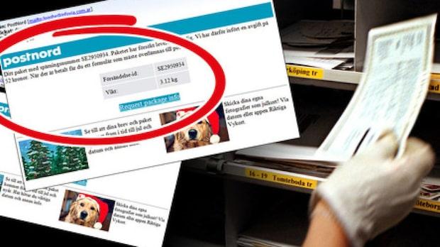 Postnord varnar för nya bedragarknepet