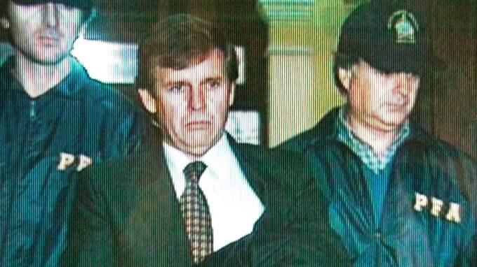 Alfredo Astiz tjänstgjorde under flera år vid tortyrcentret ESMA och anklagades för mordet Dagmar Hagelin.