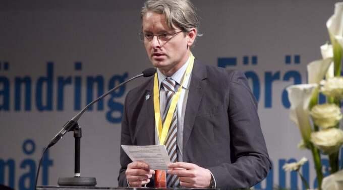 KAN UTESLUTAS. I dag har Sverigedemokraternas ledning ett extra möte för att besluta om Patrik Ehns framtid. Foto: Sven Lindwall