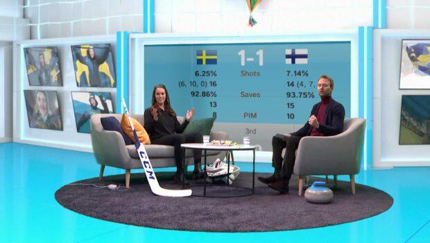 Sverige dominerar curlingen – samtidigt gör Tre Kronor mål