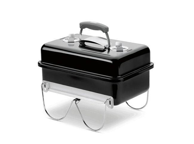 En sån här bärbar grill från Weber har sålt för 465 kronor. Ny kostar den cirka 1 000 kronor.