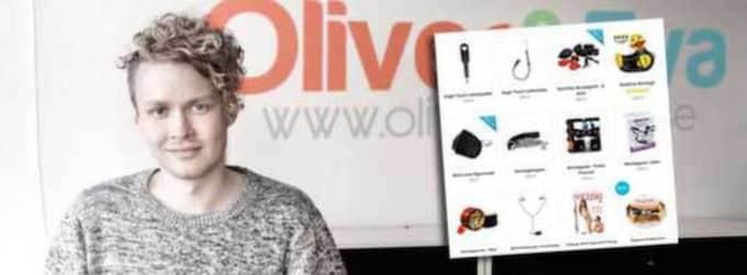 Tobias Lundqvist från Oliver och Eva.