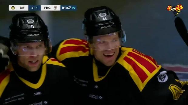 Highlights: Brynäs jättekross mot Frölunda