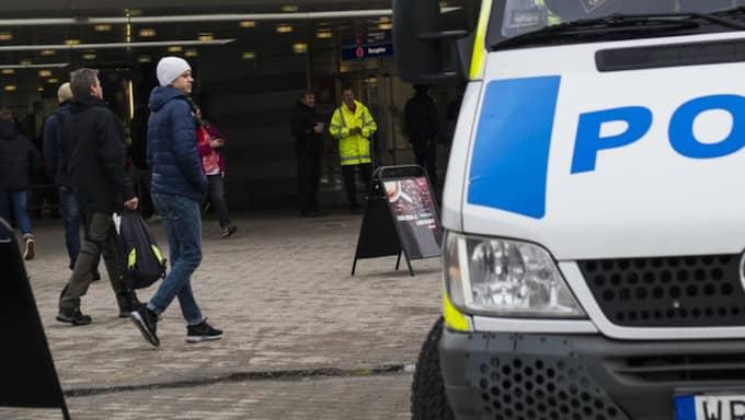 Ännu en polisbil har vandaliserats. OBS! Arkivbild. Foto: Mathias Bergeld