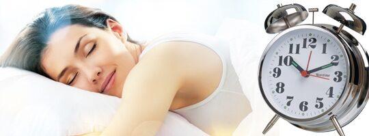 ont i kroppen efter sömn