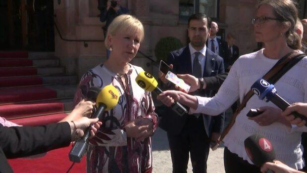 """Wallström: """"Säger sig självt att Syrien kommer vara i centrum"""""""