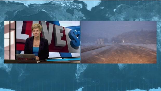 Meteorologen Johan Groth om det svenska novembervädret