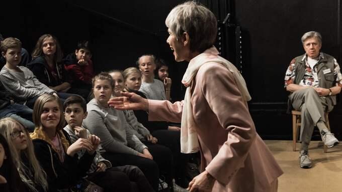 Lil Terselius, publiken och Hans Klinga. Foto: Carl Thorborg