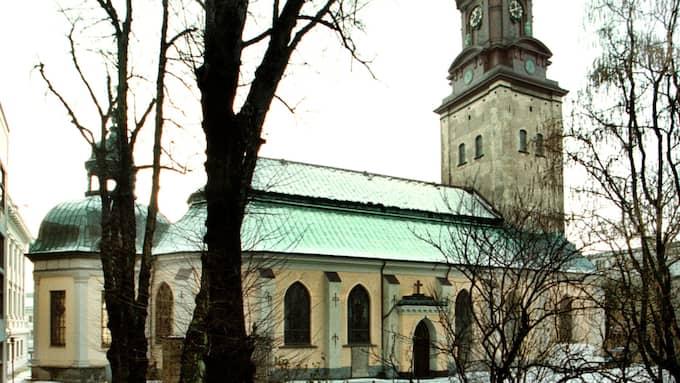 Bengt-Göran satt utanför Christinae kyrka i Alingsås när äldrebedragarna slog till. Foto: LEIF JACOBSSON