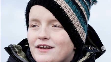 """Christopher Pålsson, 14, från Skurup nekades att vara med i """"Talang"""" på TV4. Foto: PRIVAT"""