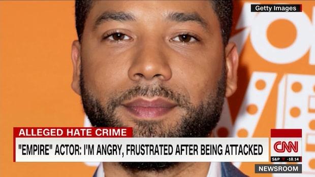 """TV-stjärnan misstänks  ha riggat """"rasistattack"""""""