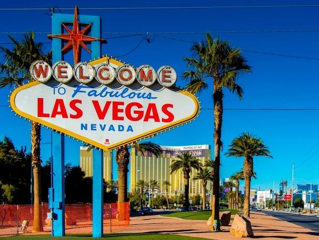 Las Vegas på vintern är en ny stark svensktrend.