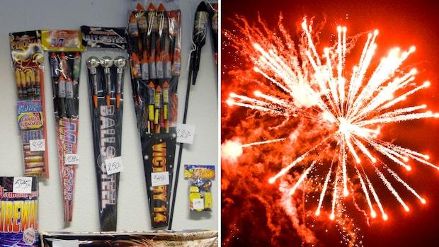 Nu måste du gå kurs för att skjuta raketer på nyår