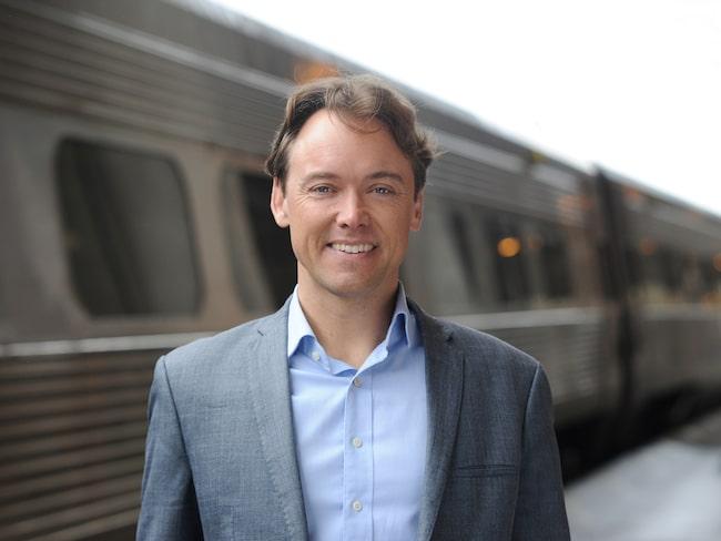 Dan Olofsson är SJ:s egen tågluffningsexpert.