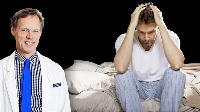 Doktor Johan Armfelt ger läsaren Karl råd om sömn och skiftarbete.