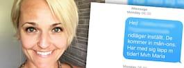 Maria, 40, sms:ade skolan – fick svar från swingersklubb