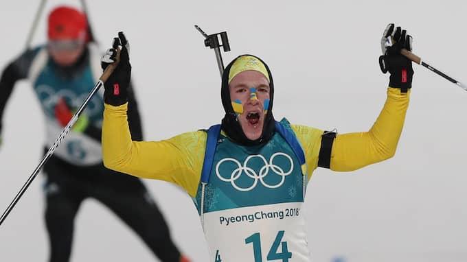 Sebastian Samuelsson tog OS-silver på måndagen. Foto: GEPA PICTURES/ MATHIAS MANDL / GEPA PICTURES BILDBYRÅN
