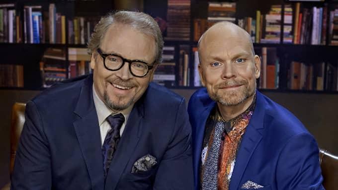 Lindström och Luuk åt också vietnamesiskt. Foto: BO HÅKANSSON, BILDUPPDRAGET