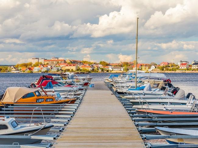 Karlskrona med fina badvikar hör till favoriterna.