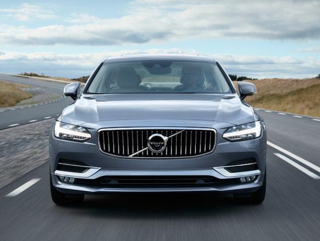 Volvo S90 – en av bilarna som ska säkra Volvos framtid och tillväxt.