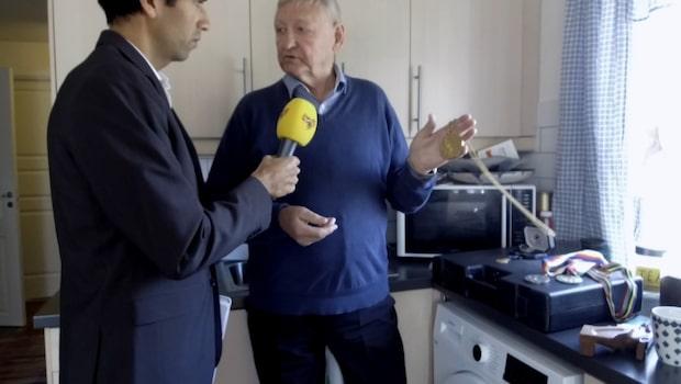 """Skanåker visar prissamlingen: """"Betyder mest för mig"""""""