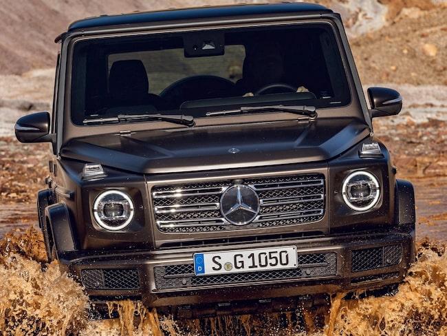 Mercedes hamnar sist och har också den största utsläppsökningen jämfört med året innan.