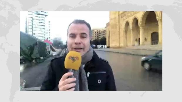 Protesterna i Beirut: Expressens reporter förklarar