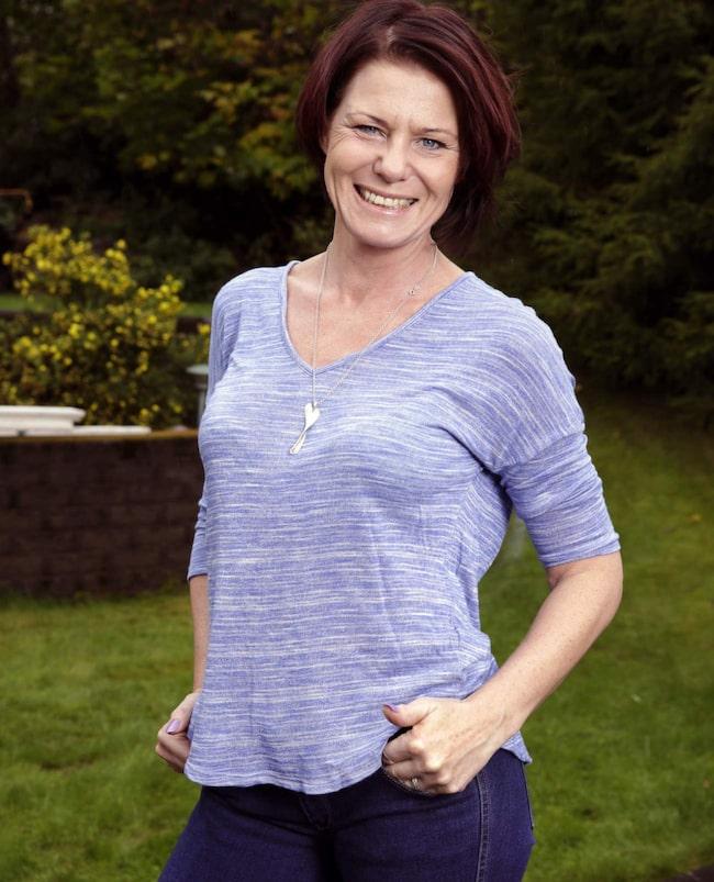 Nu efter 40 mår hon bättre än någonsin, tack vare en ny kost, mer motion och mindre stress.