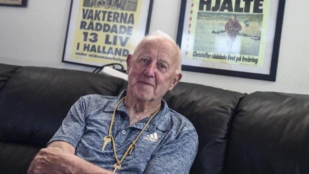 Leif, 87, räddar andra från döden