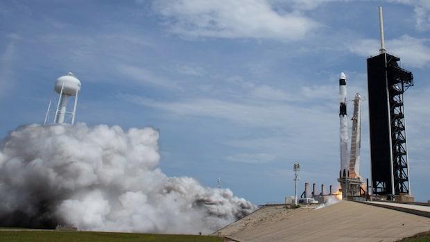 Se det historiska uppskjutet – första privatägda raket