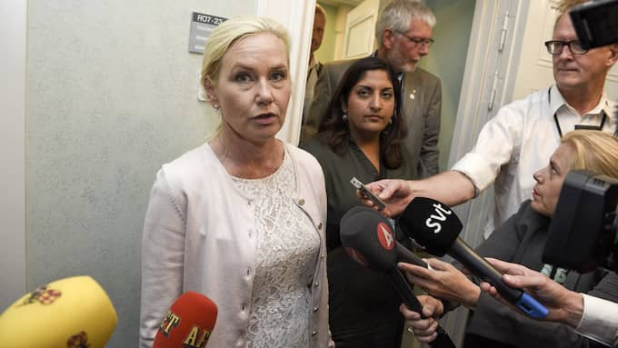 Infrastrukturminister Anna Johansson. Foto: ARI LUOSTARINEN / TT NYHETSBYRÅN