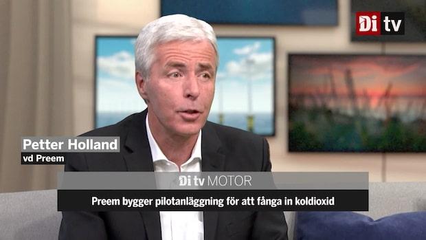 """Preems vd: """"Många hinder för att fånga in koldioxid"""""""