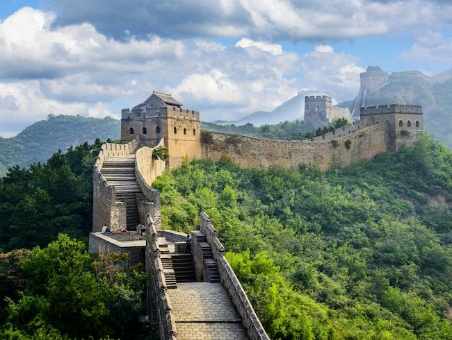 Mäktiga, mystiska kinesiska muren.