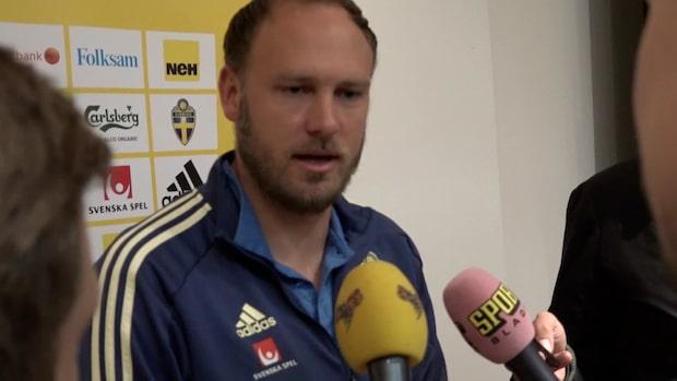 """Granqvist: """"Tråkigt att Victor inte är här"""""""
