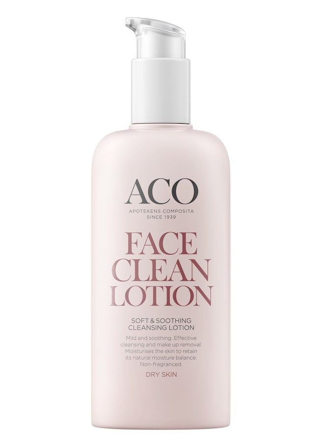 Soft & soothing cleansing lotion, ACO, 83 kronor/200 ml.