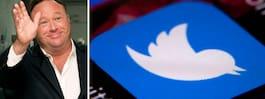 Twitter stänger ner 18 konton  med kopplingar till Infowars