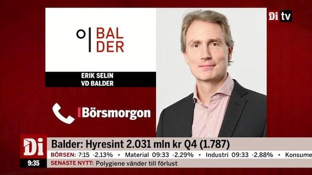 """Erik Selin om K-Fastigheter: """"Ser jättestark tillväxt"""""""