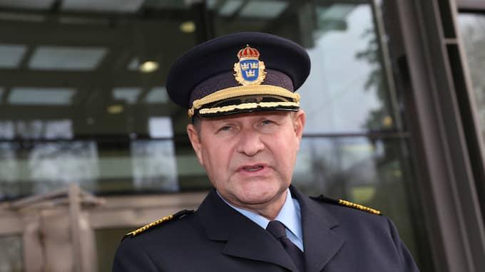 Trots åratal av hård kritik mot rikspolischef Dan Eliassson sparkades han inte. Han slutade – och gick vidare till ett nytt statligt toppjobb på MSB. Foto: ROBERT EKLUND / STELLA PICTURES