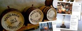 Mackmyras whisky–reklam alltför förförisk